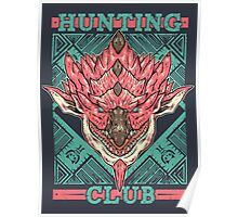 Hunting Club: Pink Rathian  Poster