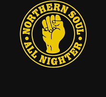 """NORTHERN SOUL DANCE """" ALL NIGHTER """" YELOW Unisex T-Shirt"""