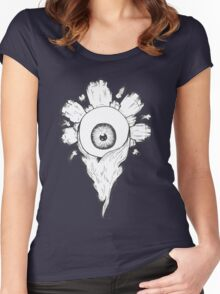 Pretty Flower Women's Fitted Scoop T-Shirt