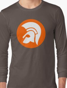 TROJAN RECORDS LOGO ORANGE Long Sleeve T-Shirt