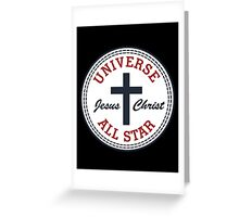 Universe All-Star Greeting Card