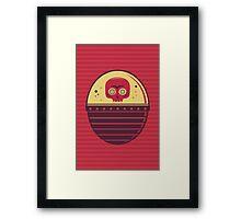 Skull Tank Framed Print