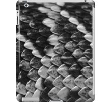 Scales B&W  iPad Case/Skin