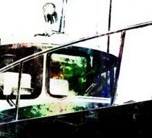Black Tug with Rainbow Sticker
