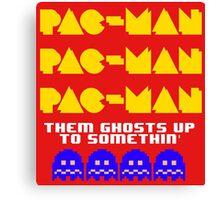 PACMAN/Jumpman Ghosts Canvas Print