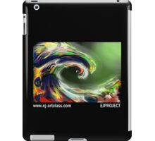 EjProject - The Wave Cat iPad Case/Skin