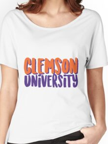 Clemson University Women's Relaxed Fit T-Shirt
