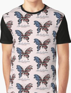 fly for freedom,4th july Graphic T-Shirt