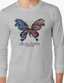 fly for freedom,4th july Long Sleeve T-Shirt