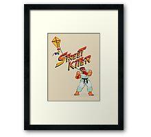 Street Kiter Framed Print