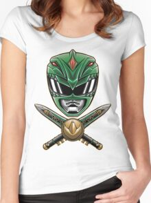 Dragonzord Power Women's Fitted Scoop T-Shirt