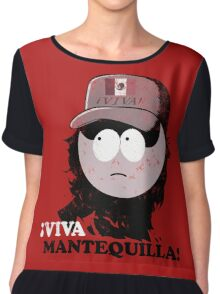 South Park Butters Mantequilla Chiffon Top