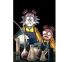 Breaking Bad Rick and Morty Photographic Print