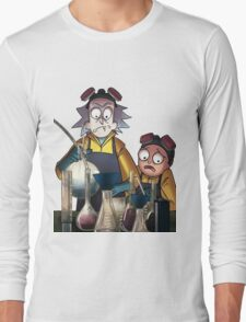 Breaking Bad Rick and Morty Long Sleeve T-Shirt