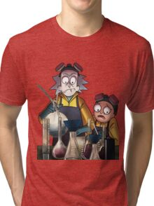Breaking Bad Rick and Morty Tri-blend T-Shirt