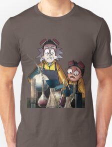 Breaking Bad Rick and Morty Unisex T-Shirt