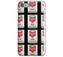 Campbell's Soup Cans Modernized iPhone Case/Skin