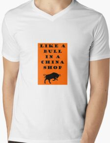 Like A Bull In A China Shop - SWITCHFOOT Mens V-Neck T-Shirt