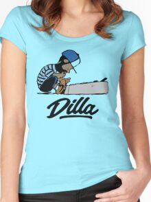 J Dilla t-shirt - Special tee for fan Women's Fitted Scoop T-Shirt