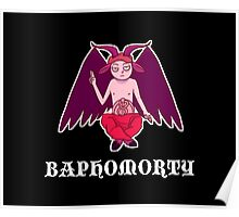 Baphomorty STICKER Poster