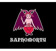 Baphomorty STICKER Photographic Print