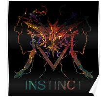 Team Instinct Black Poster