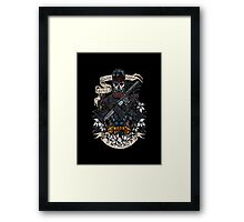 day of the dead patriot Framed Print
