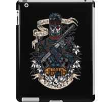 day of the dead patriot iPad Case/Skin