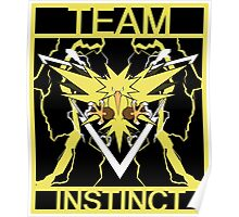 Team Instinct Vector Poster