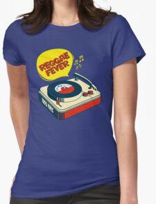 """REGGAE FEVER """" 100% VINYL TROJAN RECORDS """"  Womens Fitted T-Shirt"""