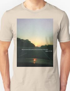 John 17:16 Unisex T-Shirt
