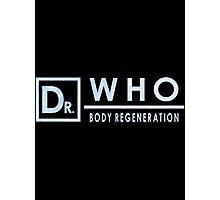 Dr Who Body Regeneration Photographic Print