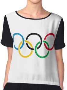 Olympics Chiffon Top