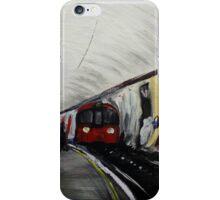 London Underground Wood Green Urban Cityscape Contemporary Acrylic Painting iPhone Case/Skin