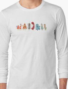 Rick and Morty mini-characters Long Sleeve T-Shirt
