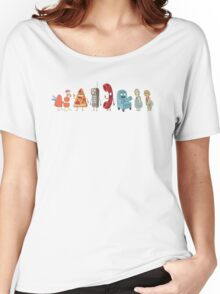 Rick and Morty mini-characters Women's Relaxed Fit T-Shirt