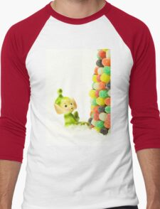 Holly the Pixie Elf Men's Baseball ¾ T-Shirt