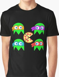 Teenage Ninja Ghosts Graphic T-Shirt