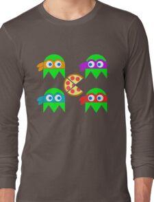 Teenage Ninja Ghosts Long Sleeve T-Shirt