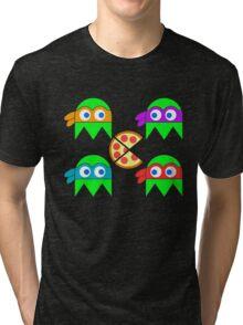 Teenage Ninja Ghosts Tri-blend T-Shirt
