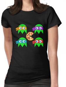 Teenage Ninja Ghosts Womens Fitted T-Shirt