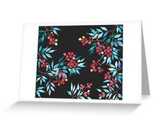 Patterns Everyday_ Lychee  litchi Season Greeting Card