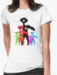 Squinty Family Womens Fitted T-Shirt