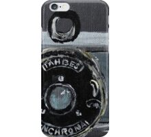 Tahbes Vintage Film Photography Camera Acrylic Painting iPhone Case/Skin