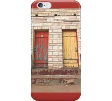 2 Doors iPhone Case/Skin
