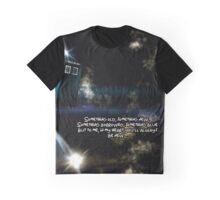 Tardis - Something borrowed, something Blue. Graphic T-Shirt