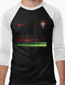Euro 2016 Football Team Portugal T-Shirt Men's Baseball ¾ T-Shirt