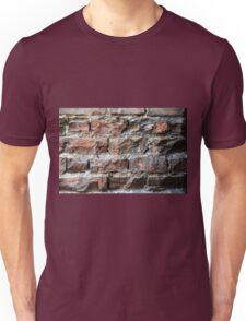 Old brick wall background  Unisex T-Shirt