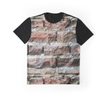 Old brick wall background  Graphic T-Shirt
