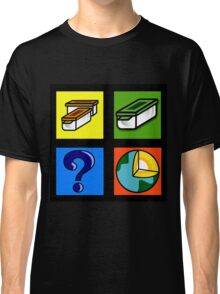 Geocaching Traditional Multi Mystery Earth Classic T-Shirt